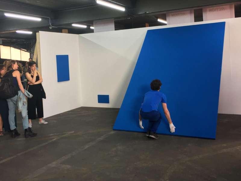 Mathieu Locquet / Master / BLEU / Graduation show - Kanal-Centre Pompidou / Prix des Amis de la Cambre / 2019